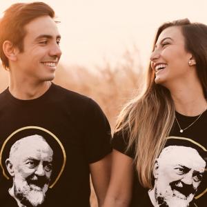 Camiseta de São Padre Pio